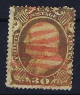 USA Mi Nr 14  Sc Nr 38 Yv Nr 16  Obl./Gestempelt/used - 1847-99 General Issues