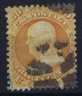 USA Mi Nr 24 W  Sc Nr  100 Yv Nr 25 A  Obl./Gestempelt/used  GRILL - 1847-99 General Issues