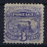 USA Mi Nr 28  Sc Nr  125 Yv Nr 31a Not Used (*) SG  1875 No Grill Perforation 12  CV Scott $ 2500 - Unused Stamps