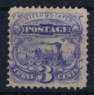 USA Mi Nr 28  Sc Nr  125 Yv Nr 31a Not Used (*) SG  1875 No Grill Perforation 12  CV Scott $ 2500 - 1847-99 General Issues