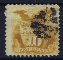 USA Mi Nr 30  Sc Nr  127 Yv Nr 33a Obl./Gestempelt/used  No Grill - 1847-99 General Issues