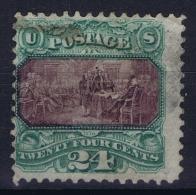 USA Mi Nr 33  Sc Nr  120 Yv Nr 36 Obl./Gestempelt/used   Grill 1869 - 1847-99 General Issues
