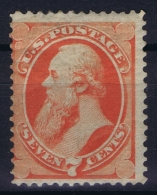 USA Mi Nr 40  Sc Nr  149 Yv Nr 43  MH/* Falz/ Charniere 1870  No Grill Signed/ Signé/signiert Bright Color - Unused Stamps