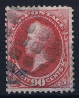 USA Mi Nr 46  Sc Nr  155 Yv Nr 49  Obl./Gestempelt/used 1870  No Grill - 1847-99 General Issues