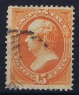 USA Mi Nr 43  Sc Nr  152 Yv Nr 46  Obl./Gestempelt/used 1870  No Grill - 1847-99 General Issues