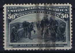 USA Mi Nr 83  Sc Nr 240 Yv Nr 91  Obl./Gestempelt/used 1893 - 1847-99 General Issues