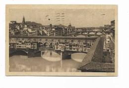 FIRENZE - PONTE VECCHIO 1932 VIAGGIATA FP - Firenze