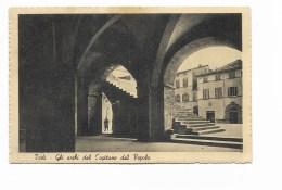 TODI - GLI ARCHI DEL CAPITANO DEL POPOLO  VIAGGIATA FP - Perugia