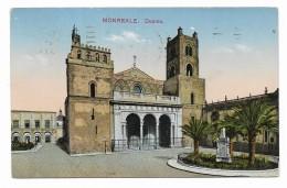 MONREALE - DUOMO   VIAGGIATA FP - Palermo