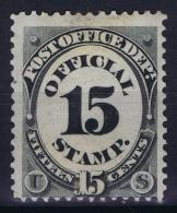 USA  Postoffice Dept. Mi Nr 52  Sc Nr O 53  Yv Nr 73 MH/* Falz/ Charniere - Officials