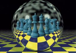 Schach Chess Ajedrez échecs - AK - Mit Schach-Diagramm Auf Der Rückseite - Schach