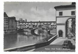 FIRENZE -  PONTE VECCHIO E ARCHIBUSIERI   VIAGGIATA FP - Firenze