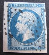 LOT R145/853 - NAPOLEON III N°14A BdF - ETOILE MUETTE DE PARIS - 1853-1860 Napoléon III.