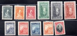 TURQUIA. AÑO 1926. Yv 695/708 (MH) INCOMPLETO - Nuevos