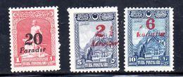 TURQUIA. AÑO 1929. Yv 741/743 (MH) - 1921-... Republic