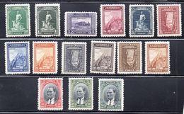 TURQUIA. AÑO 1930. Yv 750/771 (MH) INCOMPLETO - Nuevos