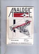 87 - LIMOGES - RARE REVUE ANALOGIE ART ET CRITIQUE-BRETAGNE-1987LAURENT BOURDELAS-DESSIN JARRAUD-BRANWENN-ENVEL-CLOULAS - Limousin