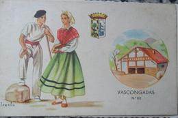 Illustrateur Iraola Caserio Ferme Basque Vascos Basques - Vizcaya (Bilbao)