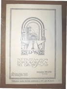 FASCISMO O.N.D. DAS RIVISTA DOPOLAVORISTICA DEL GRUPPO S.I.P. SETTEMBRE  1930 - VIII - Biografia