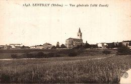 LENTILLY VUE GENERALE - France