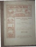 VOCI D'OLTREMARE  BOLLETTINO MISSIONARIO ILLUSTRATO PARMA IST.MISSIONI ESTERE MAGGIO 1921 - Biografia