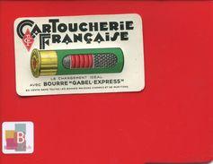 MINI CALENDRIER  MATIERE PLASTIQUE 1939  DECIMETRE  CARTOUCHERIE FRANÇAISE PARIS BOURRE GABEL EXPRESS ARMES MUNITIONS - Calendriers