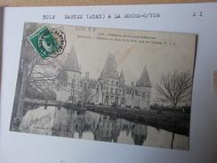 LOIRE ATLANTIQUE CONVOYEUR De LIGNE 3012 NANTES ETAT à LA ROCHE SUR YON Retour I Cpa Bouaye 1918 Frappe Bonne - Bouaye