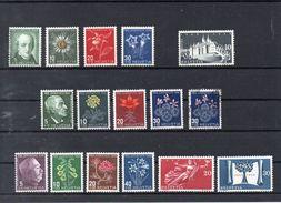 SUISSE    Timbres Neufs *  Des Années 1943 - 1948 ( Ref 386 )   Fleur  - Voir Descriptif - Svizzera