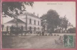 41 -MONTRICHARD---La Gare---attelage----animé - Montrichard