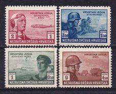 1943- Croatia, MH*,MNH** - Croatia
