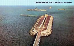 Cpsm - Chesapeake  Bay  Bridge  Tunnel - Hampton