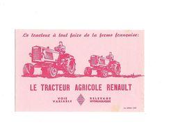 Buvard Le Tracteur Agricole Renault - Agriculture