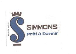 Buvard Matelas Simmons Prêt à Dormir - Carte Assorbenti