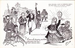 CPA (31) TOULOUSE Inventaires 1906 Cathédrale St Etienne Retour Pasteur Caricature Satirique Illustrateur Jan METTEIX - Toulouse