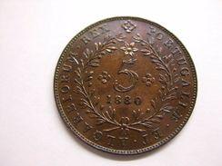 AZORES 5 REIS 1880 - Azores
