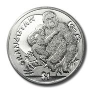 SIERRA LEONE 1 DOLLARO 2010 ORANGOTANGO ORANGUTAN - Sierra Leone