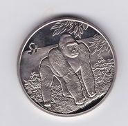 SIERRA LEONE 2005 1 DOLLARO GORILLA UNC - Sierra Leone