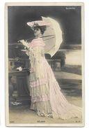 Réjane - Artiste De La Belle époque - Carte Postale Ancienne -  Femme Lady Frau - Artistes