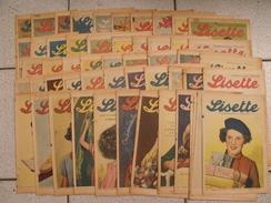 Lisette, Année 1939 Complète. Levesque Le Rallic Pouf Bourdin Souriau - Lisette