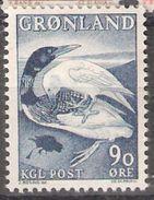 "Greenland 1967 Greenlandic Legends (III),  Legend """"How The Reddish And The Raven Got Their Colors"", Mi 68, MNH(**) - Grönland"