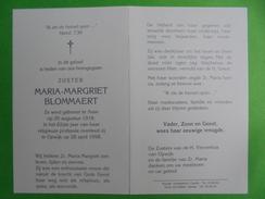 Zuster Maria-Margriet Blommaert  Asse/Opwijk - Religion & Esotericism