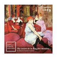 GHANA 2014 ** World Famous Paintings Toulouse-Lautrec S/S I - OFFICIAL ISSUE - DH9999 - Künste