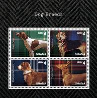 GHANA 2014 ** Dog Breeds Hunderassen M/S - OFFICIAL ISSUE - DH9999 - Hunde