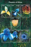 GHANA 2014 ** Flowers Of Africa Blumen In Afrika M/S I - OFFICIAL ISSUE - DH9999 - Pflanzen Und Botanik