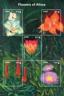 GHANA 2014 ** Flowers Of Africa Blumen In Afrika M/S II - OFFICIAL ISSUE - DH9999 - Pflanzen Und Botanik