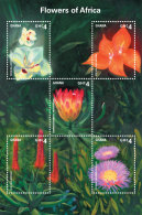 GHANA 2014 ** Flowers Of Africa Blumen In Afrika M/S II - OFFICIAL ISSUE - DH9999 - Sonstige