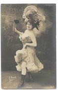 Marcelle Yrven - Artiste De La Belle époque - Carte Postale Ancienne -  Femme Lady Frau - Artistes
