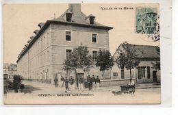 GIVET  Caserne Charbonnier  Vallee De La Meuse  Attelage Chien - Givet