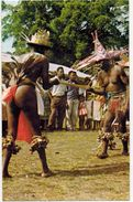 NEW HEBRIDES : (Vanuatu) Ceremonial Dance Before Pentecost Jump Saut Gaul Fung Kuei Nude Ethnie - Micronesia