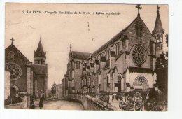 LA PUYE. CHAPELLE DES FILLES DE LA CROIX ET EGLISE PAROISSIALE - Autres Communes